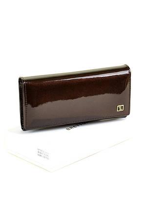 Женский кожаный лаковый кошелек W0807/4, фото 2