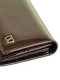 Женский кожаный лаковый кошелек BRETTON W0807/4, фото 3