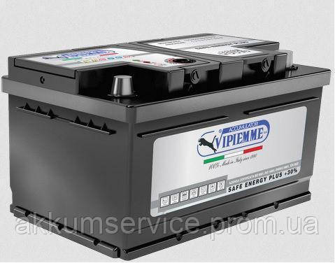 Аккумулятор автомобильный Vipiemme Safe Energy (низкий) 60AH R+ 530A