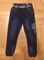 ДЖИНСОВЫЕ брюки ДЖОГГЕРЫ для мальчиков  F&D 116-146 p.p., фото 1