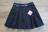Школьная юбка для девочек ( ткань- мадонна )122- 146 рост