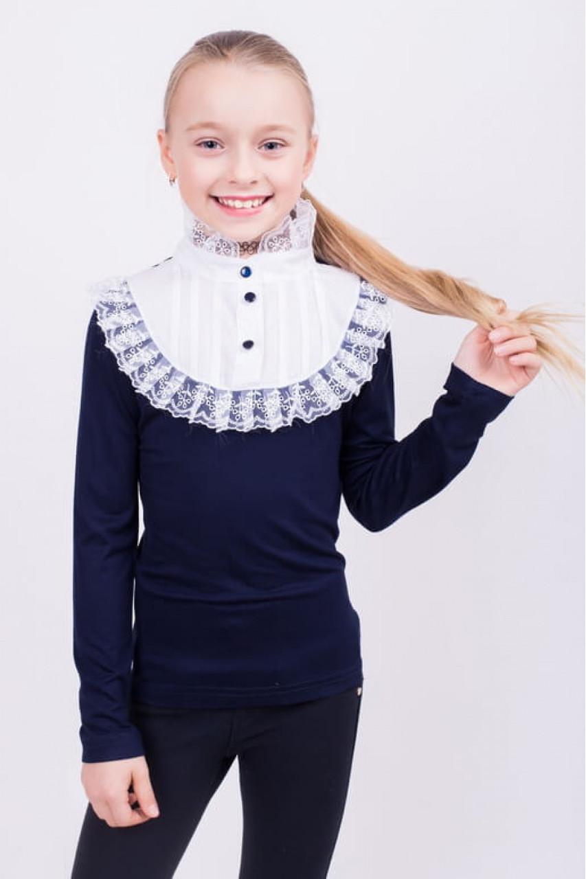 Женственная и нежная блуза для девочки 122 р.р.