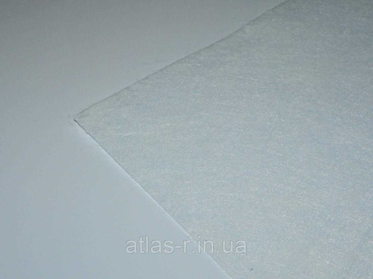 Жесткий фетр для рукоделия белый листовой 1,3 мм