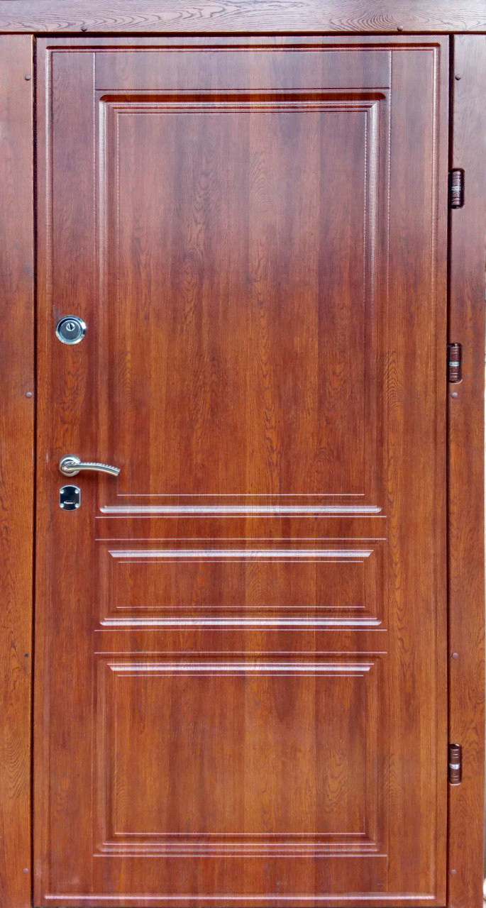 Уличные входные двери Редфорт Осень дуб медовый