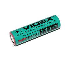 Аккумулятор Videx 18650 (высокотоковый) 2200mAh bulk/1pc 50/600