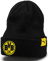 Спортивная шапка Puma Bvb Performance Beanie 021037-01 a768c878a58d9
