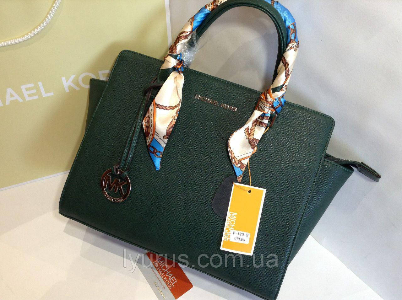 cda981cb32a7 Женская кожаная сумка Michael Kors  продажа, цена в Полтаве. женские ...