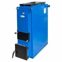 Твердотопливный дровяной котел отопления TERMit-TT 12 кВт Эконом без обшивки, фото 1