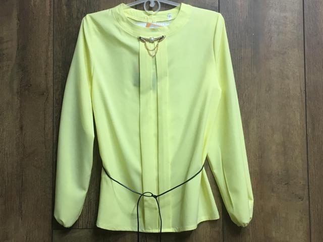 Шифоновая блузка для девочек. 128-152 рост.