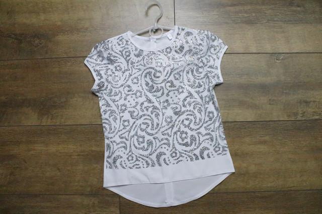 Нарядная блузка для девочек. 122- 128 рост.