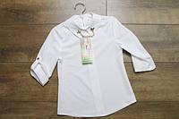 Шифоновая блузка для девочек. 122- 128 рост.