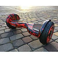 """Гироскутер Smart Balance Wheel 10"""" с сумкой красный, фото 1"""