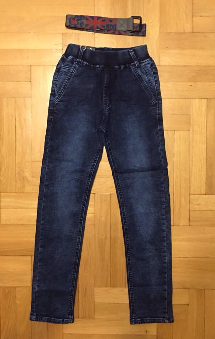 Джинсовые брюки для мальчиков F&D 134-164 p.p.