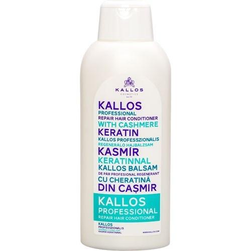 KALLOS Профессиональный регенерирующий бальзам для волос на основе кератина и кашемира