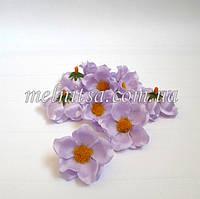 Цветок яблони, 4 см, цвет сиреневый, атлас