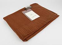 Плотный, нежный кашемировый шарф, палантин Sky Cashmere 7080-8 коричневый