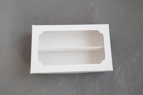 Коробка для Macaron с окошком 12*20*6 см Галетте - - 06575