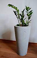 Напольная бетонная ваза 24*46