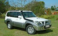 Шноркель для Hyundai Terracan sns133
