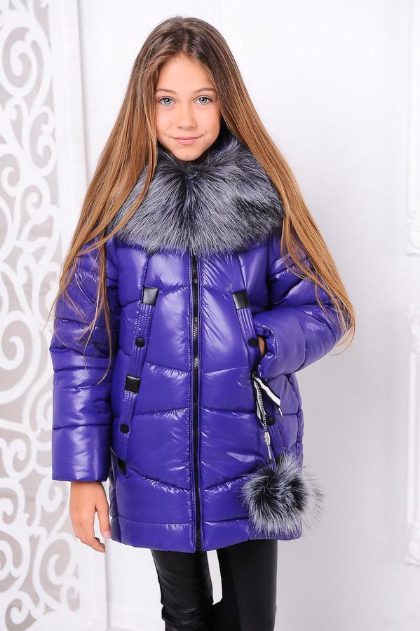 Куртка «Матильда», фиолет Рост 122