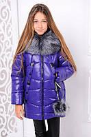 Куртка «Матильда», фиолет Рост 122, фото 1