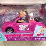 "Уценка кукла Еви и ""New beetle"" кабриолет  Simba, фото 3"