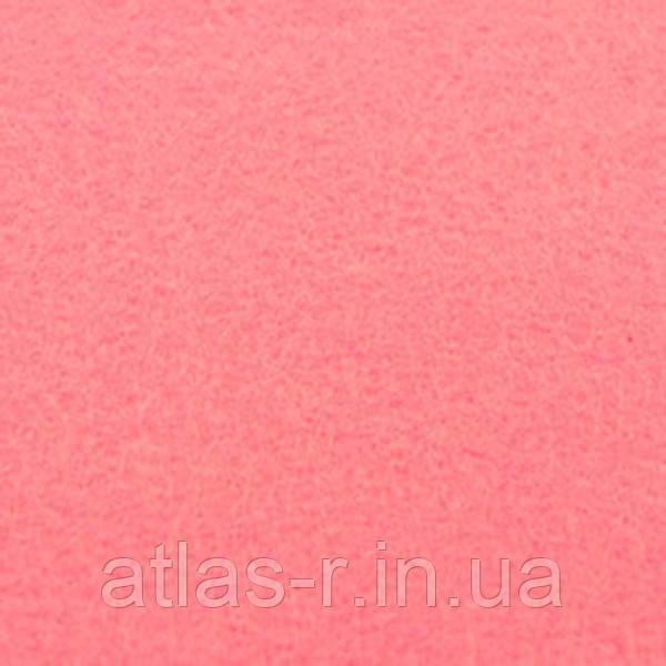 Мягкий фетр для рукоделия светло-коралловый листовой 1,3 мм