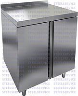 Шкаф производственный из нержавеющей стали с раздвижными дверями 1500*300*600мм