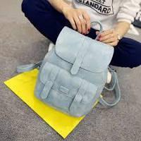 Женский рюкзак-сумка Toposhine, голубой, фото 1