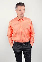 Рубашка Fra №876-17 (Апельсиновый)