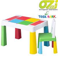Комплект детской мебели Tega Baby MULTIFUN (стол + стульчик)