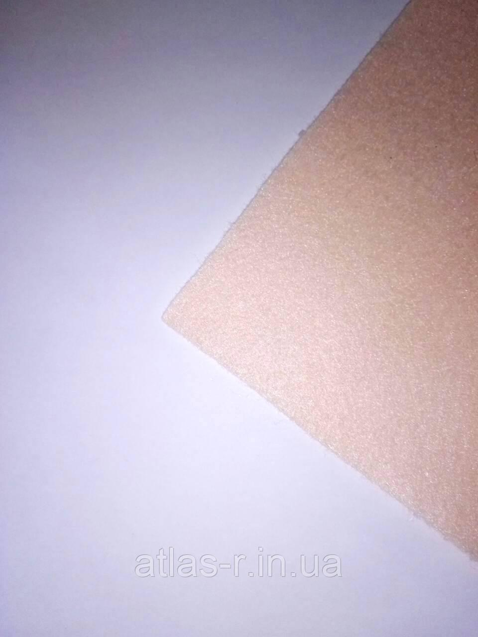 Мягкий фетр для рукоделия светло-персиковый листовой 1,3 мм