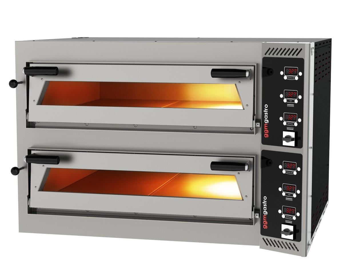 Печь для пиццы 6 + 6х35 см PDP66BD