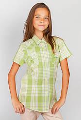 Рубашка женская стильная 554KC001-1 junior (Оливково-молочный)