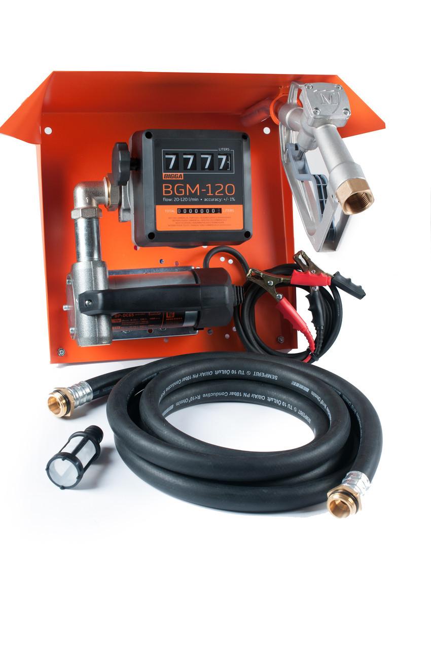Gamma DC/AC-65 - Мобильная заправочная станция для дизельного топлива с расходомером, 12/24/220 В, 45/65 л/мин