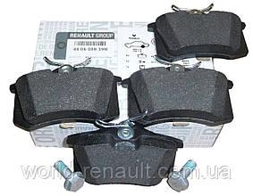 Комплект задних тормозных колодок Рено Гранд Сценик III / Renault ORIGINAL 440605839R