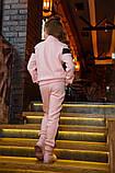 Детский супер тёплый спортивный костюм на девочку ( 4 цвета)  трикотаж на меху, фото 7