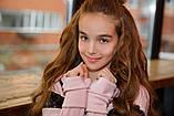 Детский супер тёплый спортивный костюм на девочку ( 4 цвета)  трикотаж на меху, фото 8