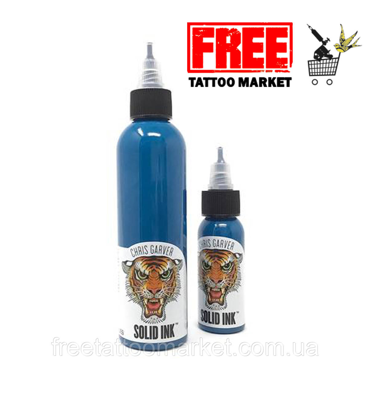 Тату краска SOLID INK GARVER MIKIRI BLUES 1 унц (30мл)