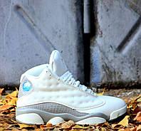 Мужские кроссовки Nike Air Jordan 13 Retro Phantom Moon Particle. Живое фото (Реплика ААА+), фото 1