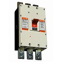 Выключатель автоматический ВА77-1-1250  3 П  1250А   5-10In   Icu  65кА  с электроприводом   + доп. контакт, фото 1