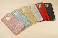 Переливающийся силиконовый чехол для Samsung Galaxy А6 Plus А605 2018 (6 Цветов), фото 1