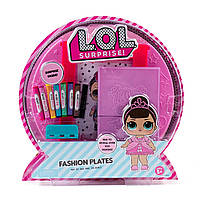 L.O.L. Surprise Fashion Plates: модные пластинки раскраски. MGA Оригинал!, фото 1