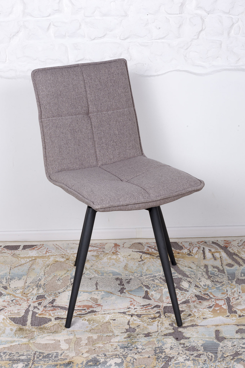 Поворотный стул MADRID (Мадрид) светло-кофейный от Niсolas, ткань