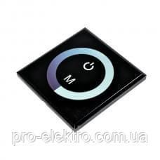 Диммер Biom 8А-Touch 12V, 96W сенсорная панель (чёрный)
