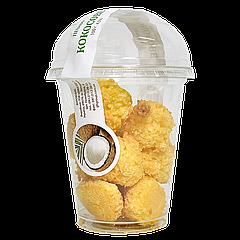 Печенье GFS сдобное в стакане, кокосовое 100г 1уп/10шт