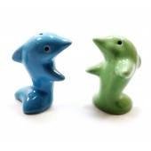 Солонка с перечницей Два дельфина 27899D
