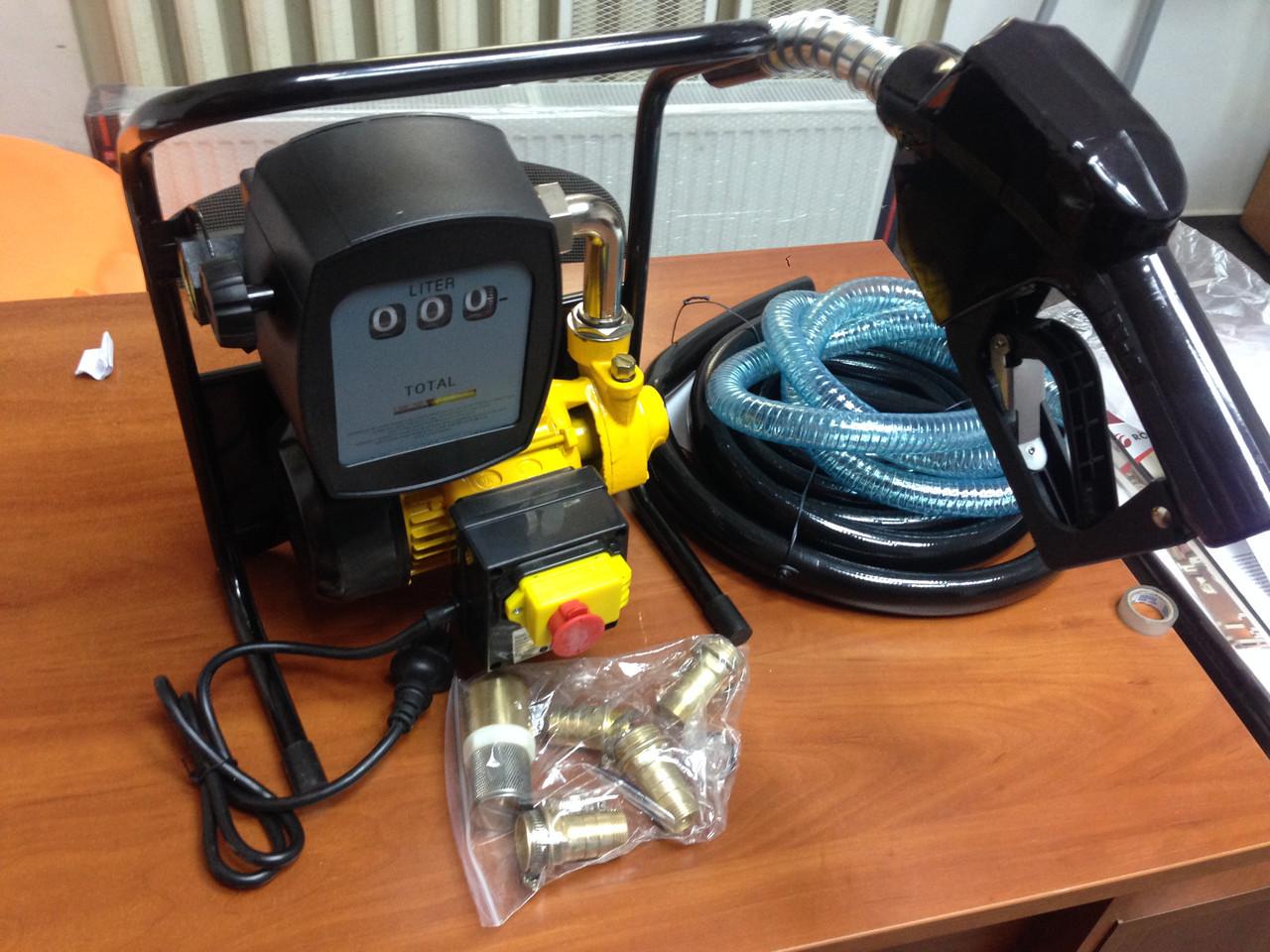 АЗС для заправки перекачки дт с фильтром тонкой очистки заправка с насосом 2200 WAT Geko Mini