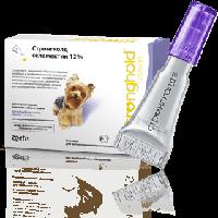 Капли Стронгхолд для собак весом 2,5-5кг (капли от блох, яиц блох, клещей и глистов) (1 пипетка)