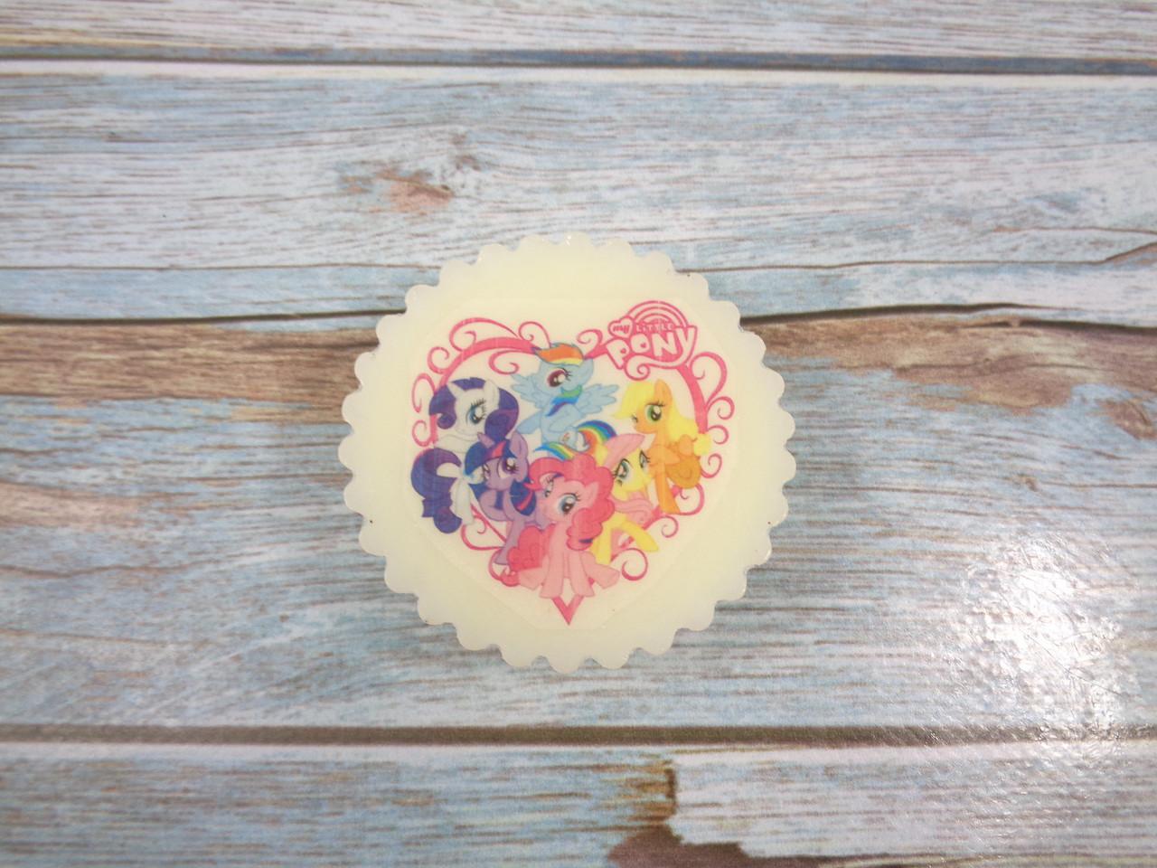 """Мыло с картинкой """"My little pony"""" №2"""